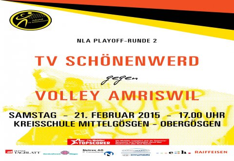 Matchheft zur 2. Play-Off Runde